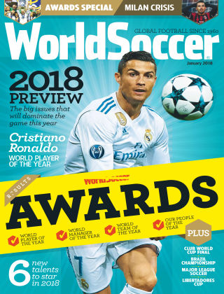 World Soccer Jan 2018