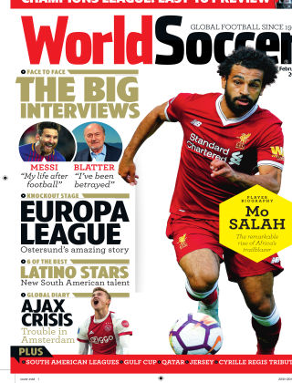 World Soccer Feb 2018