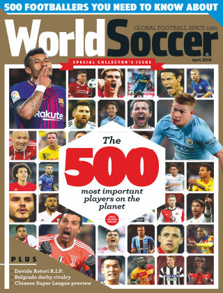 World Soccer Apr 2018