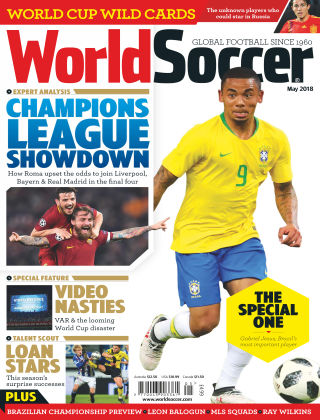 World Soccer May 2018