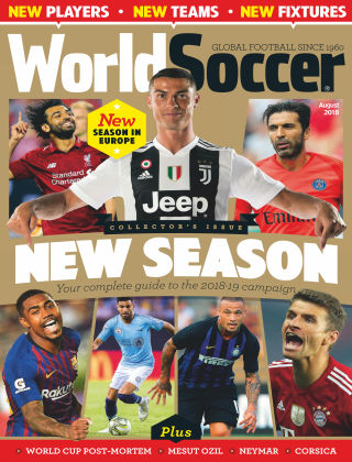 World Soccer Aug 2018