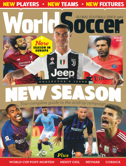 World Soccer August 10, 2018 00:00