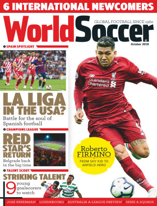 World Soccer Oct 2018