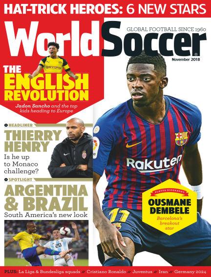 World Soccer November 02, 2018 00:00