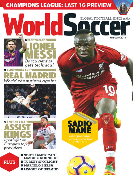 World Soccer January 25, 2019 00:00