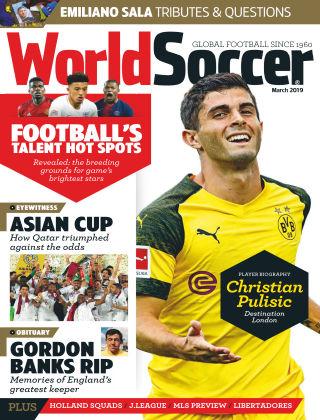 World Soccer Mar 2019