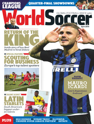 World Soccer Apr 2019