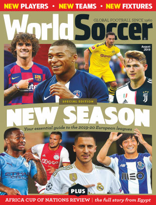 World Soccer Aug 2019
