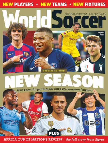 World Soccer August 09, 2019 00:00