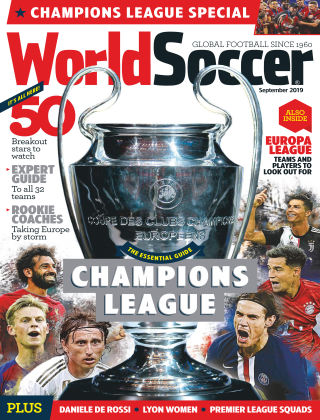 World Soccer Sep 2019