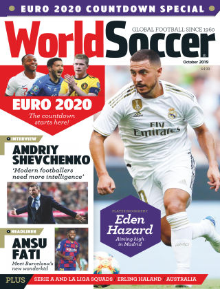 World Soccer Oct 2019