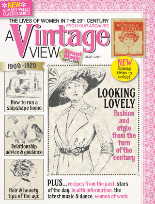 Woman's Weekly Vintage View Issue 1