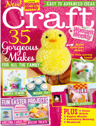 Love To Make with Woman's Weekly April 2014