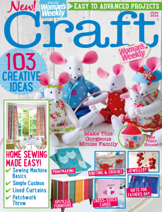 Love To Make with Woman's Weekly June 2014