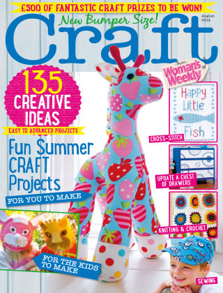 Love To Make with Woman's Weekly August 2014