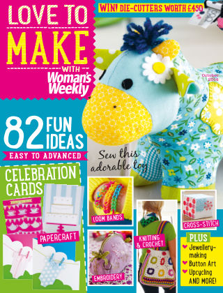 Love To Make with Woman's Weekly October 2014