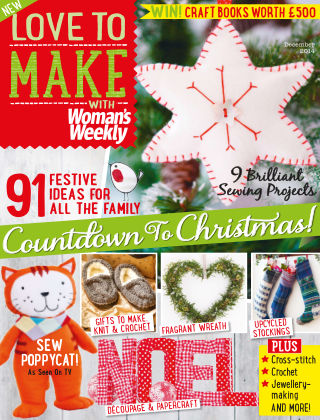 Love To Make with Woman's Weekly December 2014
