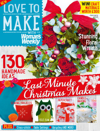 Love To Make with Woman's Weekly January 2015