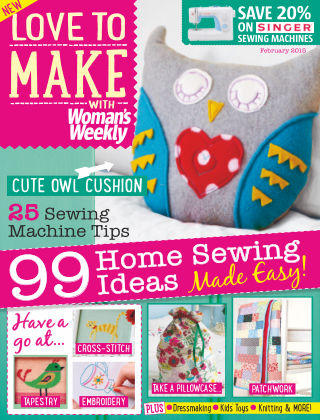 Love To Make with Woman's Weekly February 2015