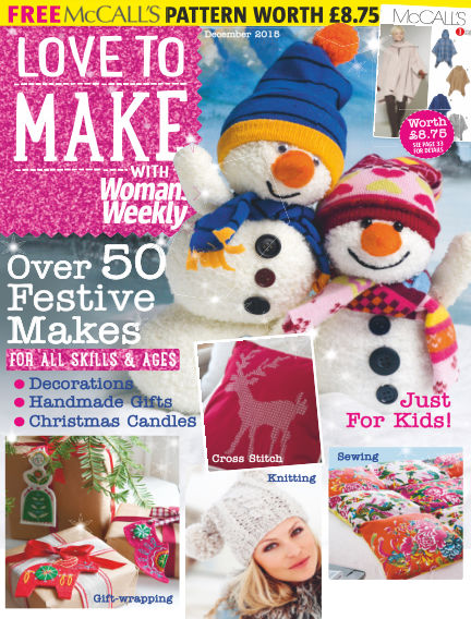 Love To Make with Woman's Weekly December 03, 2015 00:00