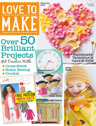 Love To Make with Woman's Weekly Craft (2) 2016