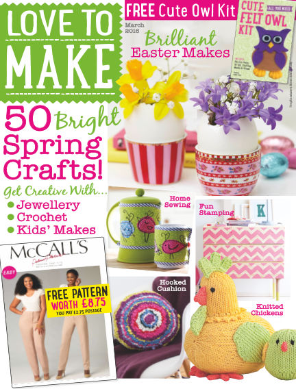 Love To Make with Woman's Weekly February 05, 2016 00:00