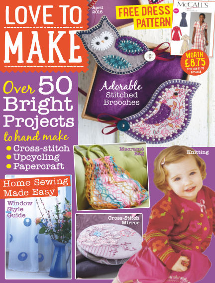 Love To Make with Woman's Weekly March 03, 2016 00:00