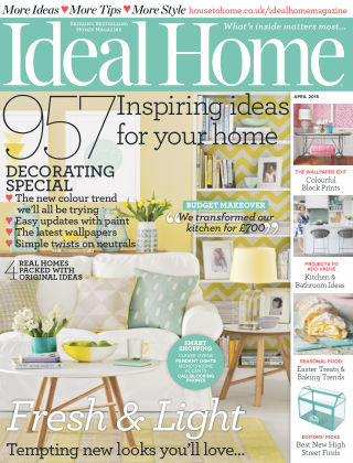 Ideal Home April 2015