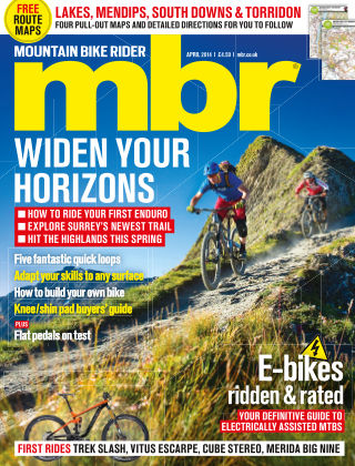 Mountain Bike Rider April 2014