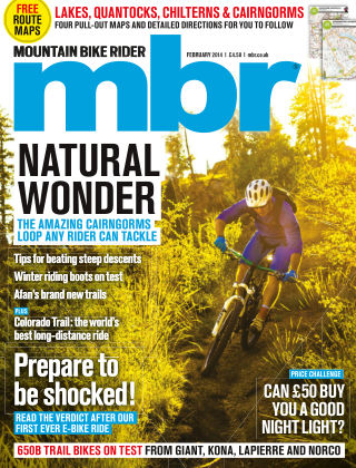 Mountain Bike Rider February 2014