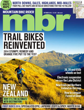 Mountain Bike Rider October 2013