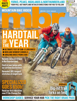 Mountain Bike Rider June 2014