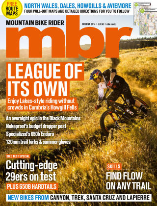 Mountain Bike Rider August 2014