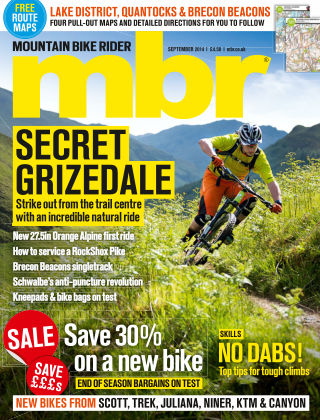 Mountain Bike Rider September 2014