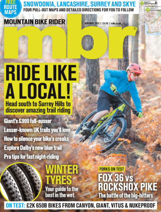 Mountain Bike Rider January 2015
