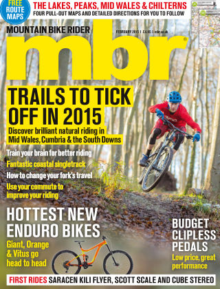 Mountain Bike Rider February 2015