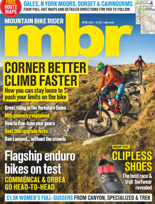 Mountain Bike Rider April 2015