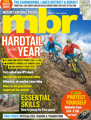 Mountain Bike Rider June 2015