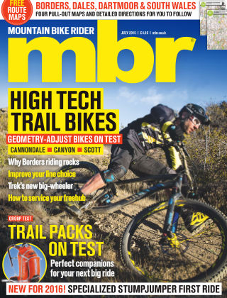 Mountain Bike Rider July 2015