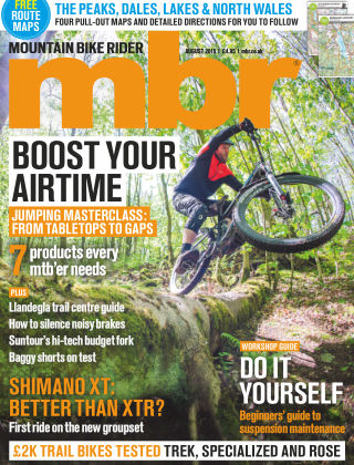 Mountain Bike Rider August 2015