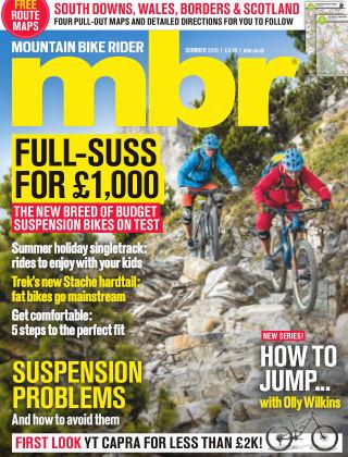 Mountain Bike Rider Summer 2015