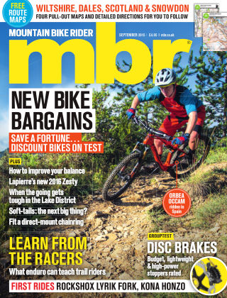 Mountain Bike Rider September 2015