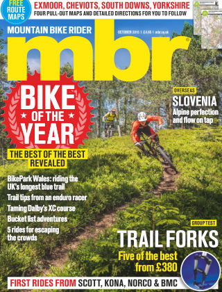 Mountain Bike Rider October 2015