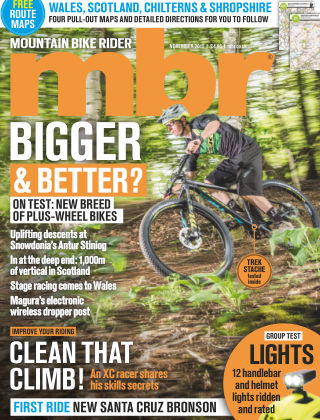 Mountain Bike Rider November 2015
