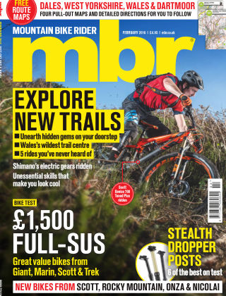 Mountain Bike Rider February 2016