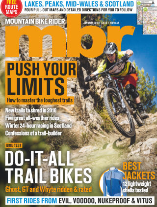 Mountain Bike Rider January 2016