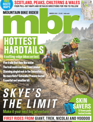 Mountain Bike Rider March 2016