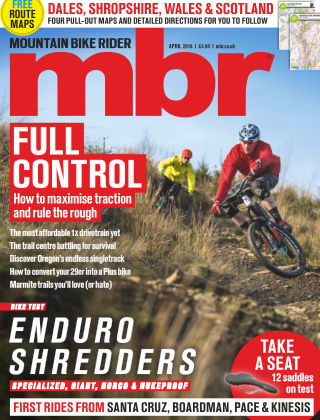 Mountain Bike Rider April 2016
