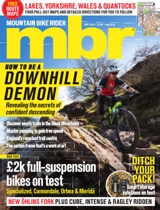 Mountain Bike Rider May 2016