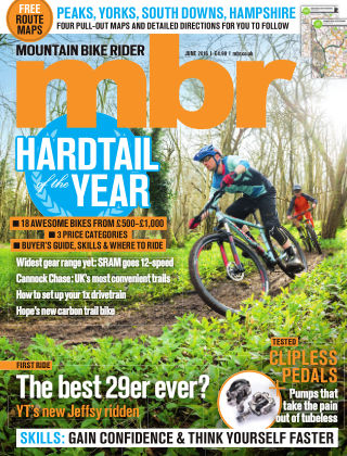 Mountain Bike Rider June 2016
